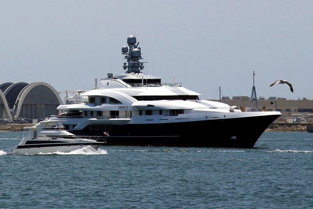Luxury Mega Yacht Attessa Iv San Diego California Flickr