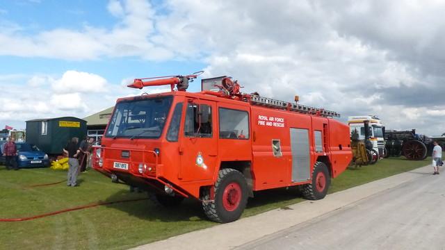 Royal Air Force Fire and Rescue, Simon F2 Foam Tender Reg: Q187RFE