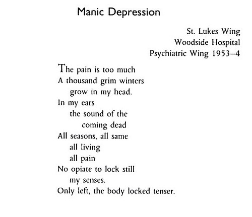 Spike Milligan's poem on suffering manic depression | by Francis Storr