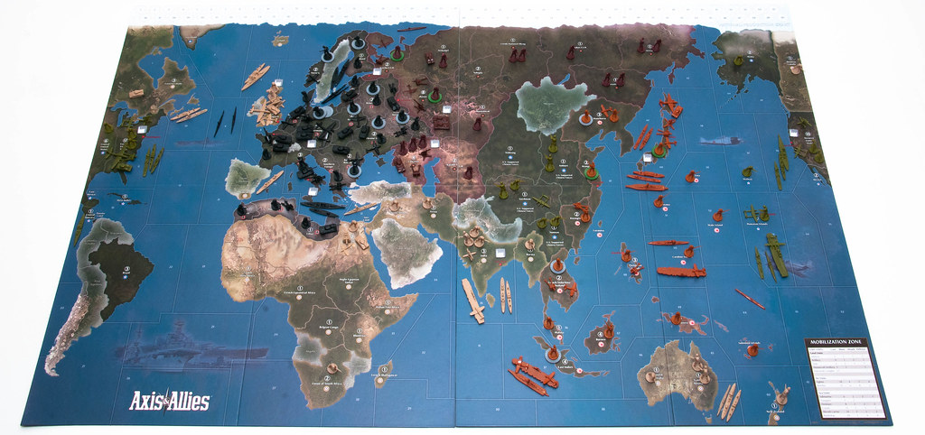 Axis & Allies 1942 2nd Edition Setup | For more information