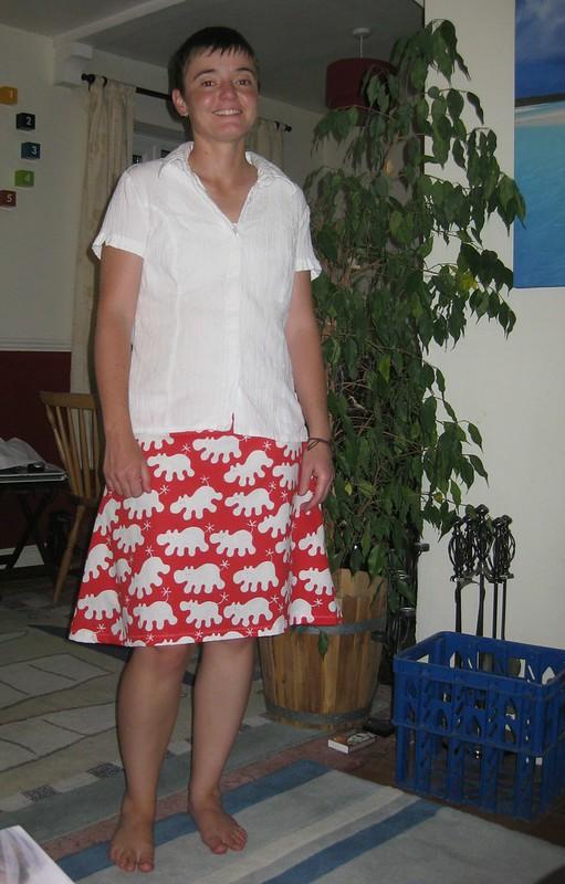 Silly skirt