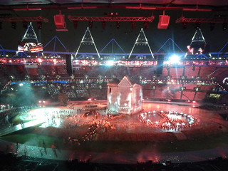 #london2012 #openingceremony oh so pretty | by gorgeoux