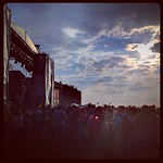 Fri, 27/07/2012 - 3:42pm - Blitzen Trapper brings out the sun at @NewportFolkFest - by @WFUV