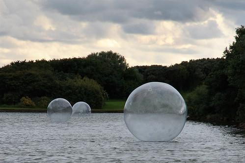 Fairhaven Bubbles, Fairhaven Lake, Lytham St. Annes, Fylde, Lancashire, UK