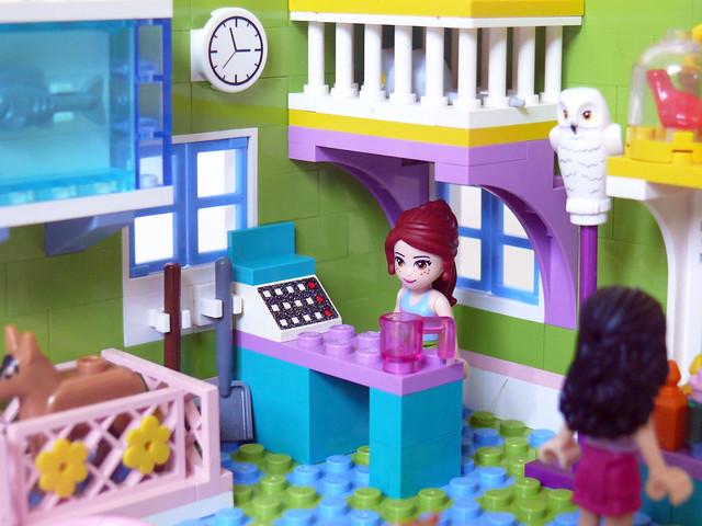 Mia's Pet Shop - The Counter