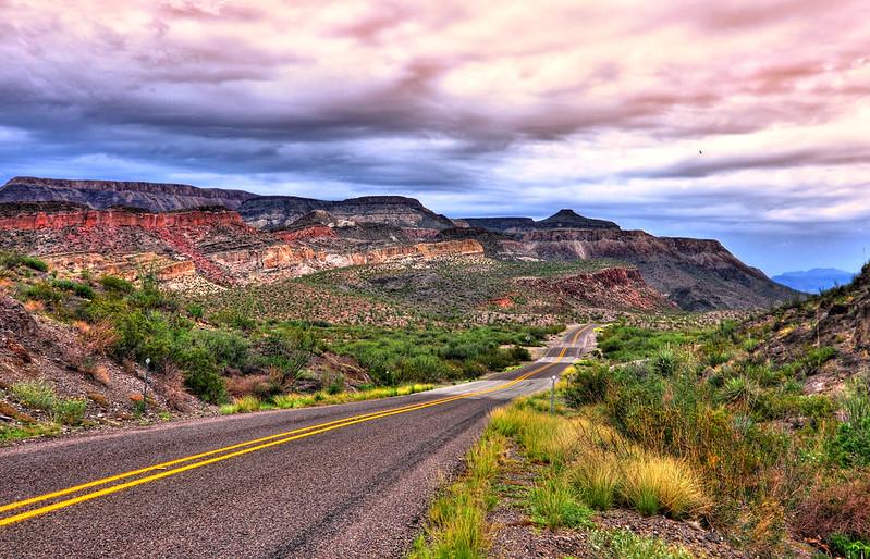 Approaching Big Bend National Park, Along FM 170 (Explored)