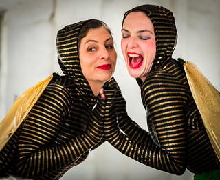 Honey bees/ Circus ladies/ Perth Western Australia