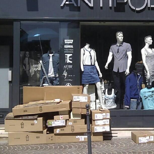 boxes, Saint Quentin, FR
