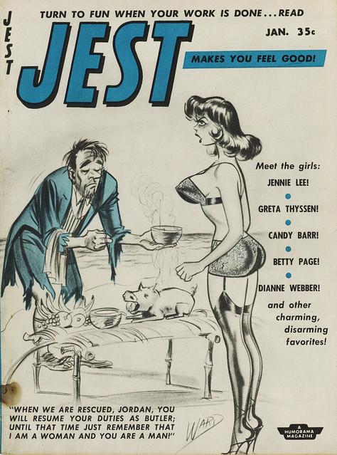 Jest Magazine - January 1958