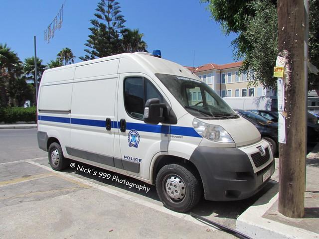 Greek Police / Peugeot Boxer / Cell Van
