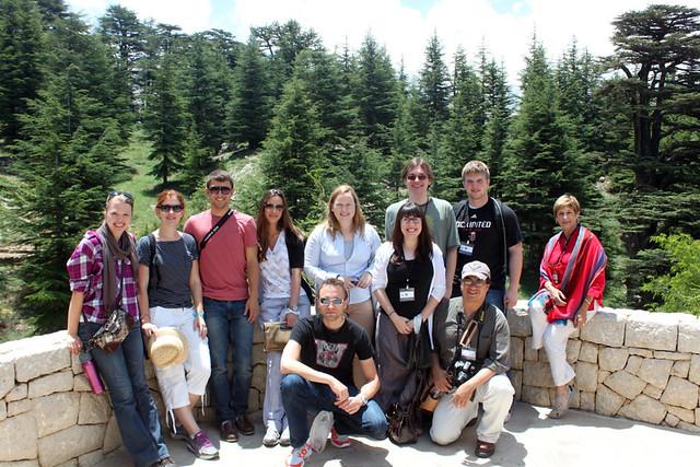 Student Study Visit to Lebanon, July 2012