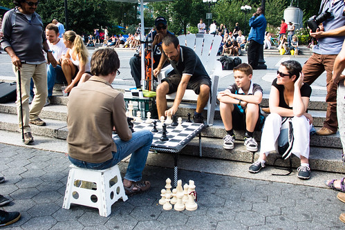Union Square chess | by Dan Nguyen @ New York City