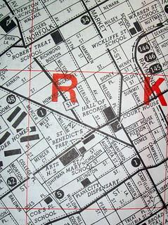 Newark NJ 1950s