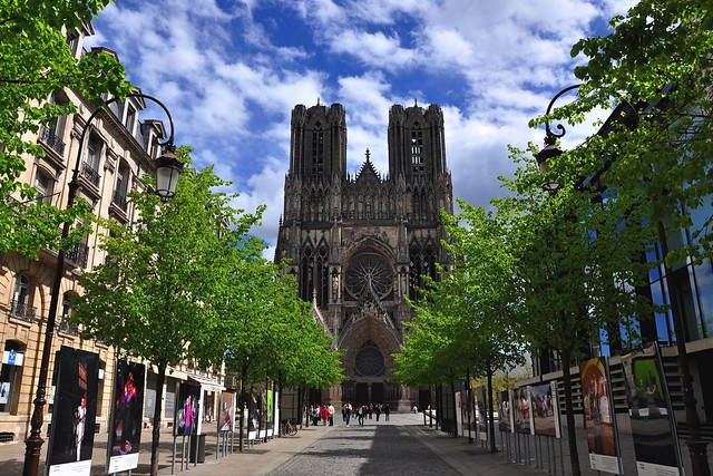Notre-dame de reims, France (Reims Cathedral)