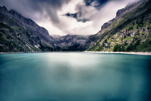 Green lake...