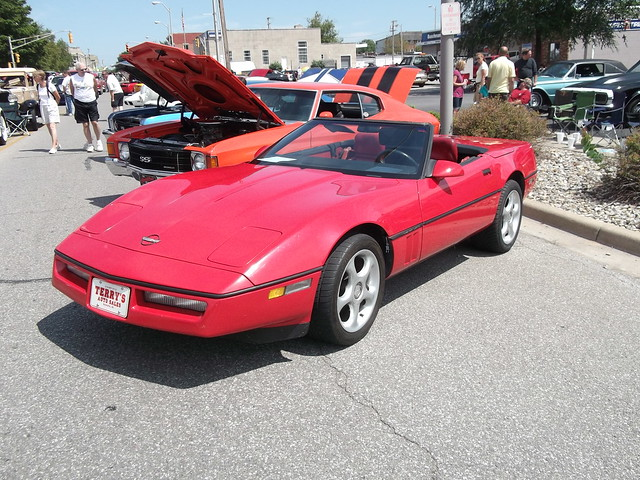 1989 Chevy Corvette convertible