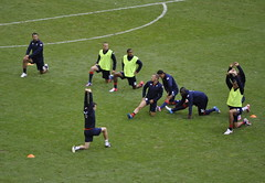 Team GB match v Uruguay #2