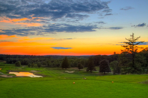 sunset summer green 20d water colors clouds canon golf ma arthur august noel course valley fairway hdr merrimack artie methuen 01844
