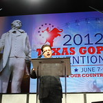 Weston Martinez speaks at the Texas GOP Convention