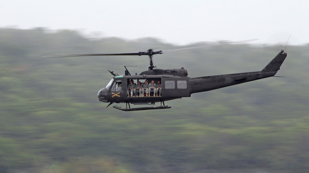 Bell UH-1H, 74-22495 - Huey Retirement Commemorative Last Airlift - Robert Gray Army Air Field (KGRK), Fort Hood Texas