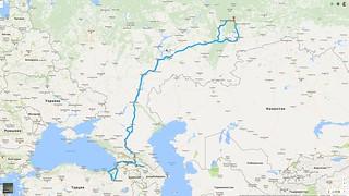 Russia - Georgia - Turkey - Georgia - Russia 2016