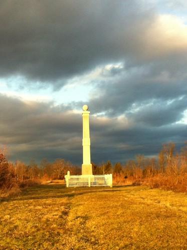 sunset dusk pennsylvania gettysburg