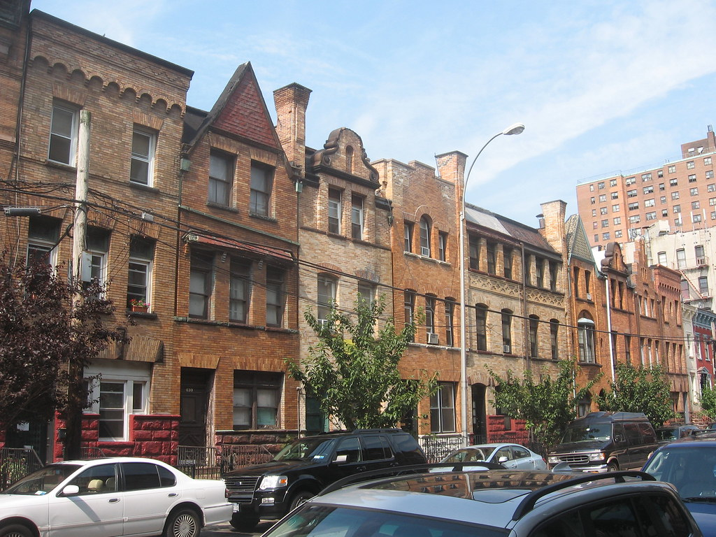 Bertine Block Mott Haven Queen Anne Row Houses 1891 Arc Flickr
