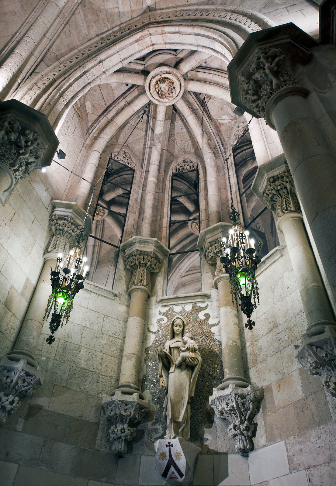 The Crypt - Sagrada Familia - Barcelona