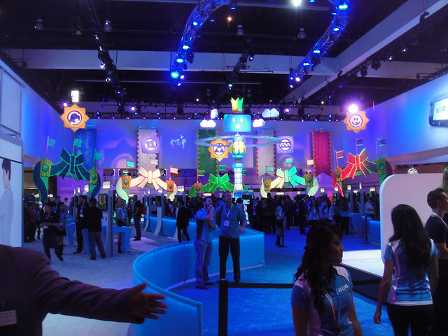 E3 Expo 2012 - Nintendo booth