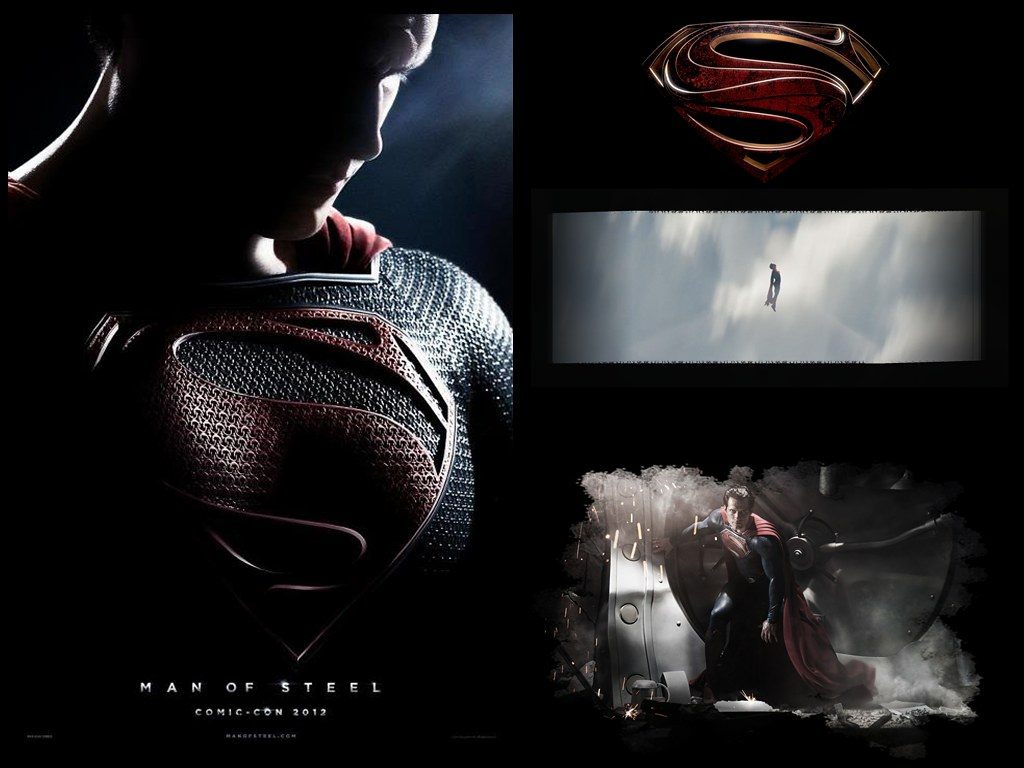 Man Of Steel Wallpaper Click The Image And Then View In Flickr