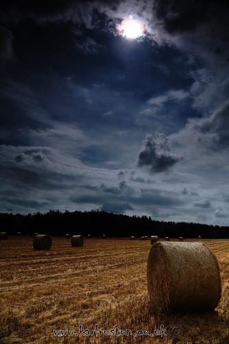 sky sun field yorkshire harvest straw