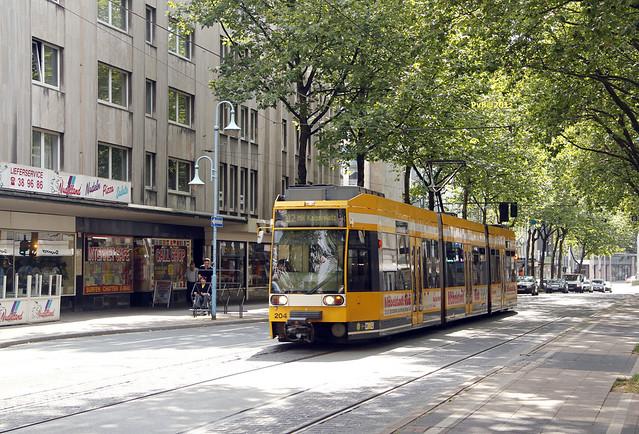 Mvg lijn 112-204-Duewag MGT6D @ Mulheim am Ruhr