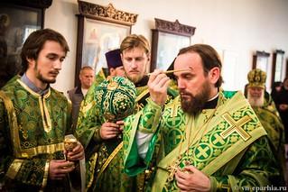 Божественная Литургия в д.Леохново 230