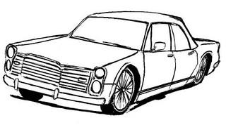 Desenho De Carro Para Colorir Carro Para Pintar Carro Anti Flickr