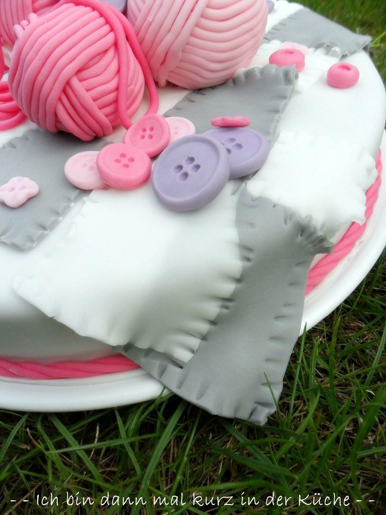 Strick Torte (Knitted Cake) | Maria | Flickr