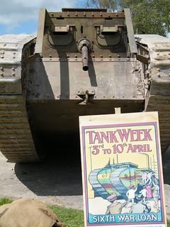 Mk IV Male Tank, 1917