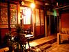 瓊林100號民宿(瓊林100‧印象瓊林)川廊精美的窗雕