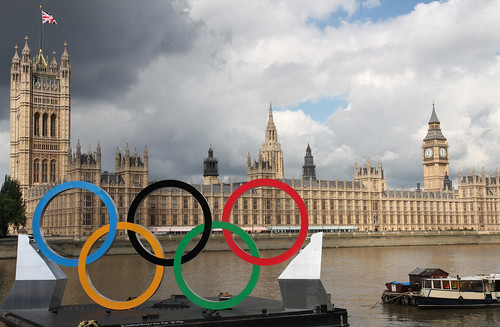 Olympic rings   by Foreign and Commonwealth Office