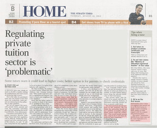 Straits Times Home (14 August 2012) | by Miss Loi