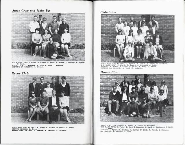 Altjiringa Annual 1967 Pages 32 - 33