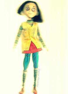 Coraline Doll Made From Old Broken Incredibles Violet Doll Damian Alexander Flickr