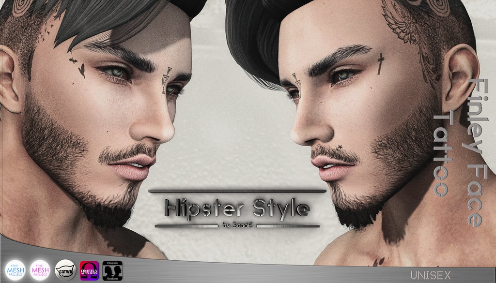 14f31ec20 Hipster Style] Finley Face Tattoo   NEW EXCLUSIVE FOR MOM (…   Flickr