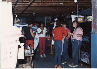BOB'S GAMEROOM IN JULY 1985