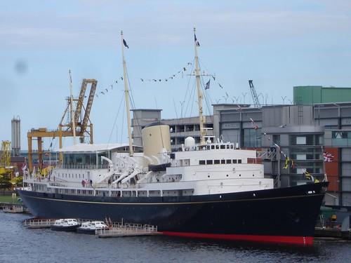 Royal Yacht Britannia, Leith, Scotland