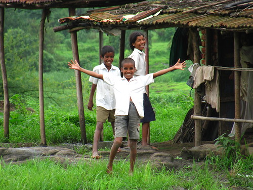 Children near Pawana Dam | by santosh.wadghule