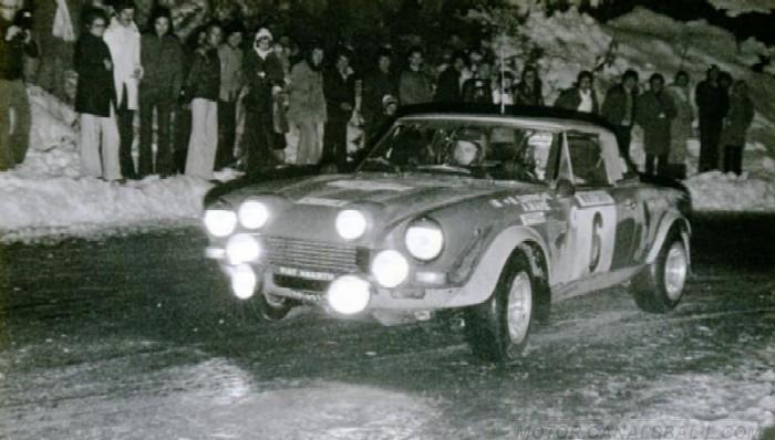 Fiat 124 Abarth - Montecarlo 1975