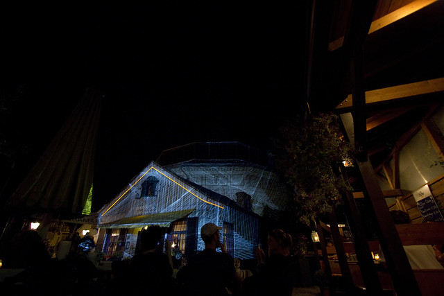 Kurt Laurenz Theinert - Visual Piano live 27th of July 2012 @ Rotate Festival