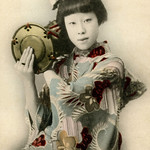 Hangyoku with Hand Drum 1900
