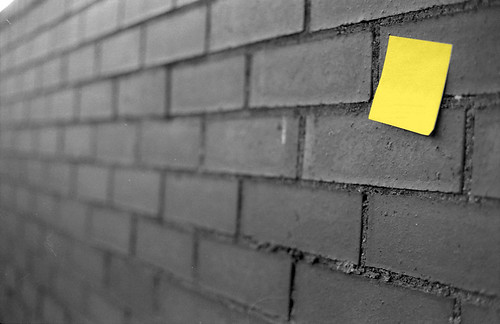 City post-its: Wall | by Joybot