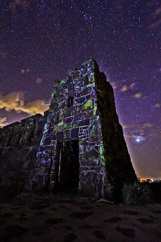 longexposure castle nature night stars ks astrophotography kansas neptune astrology lindsborg coronadoheights